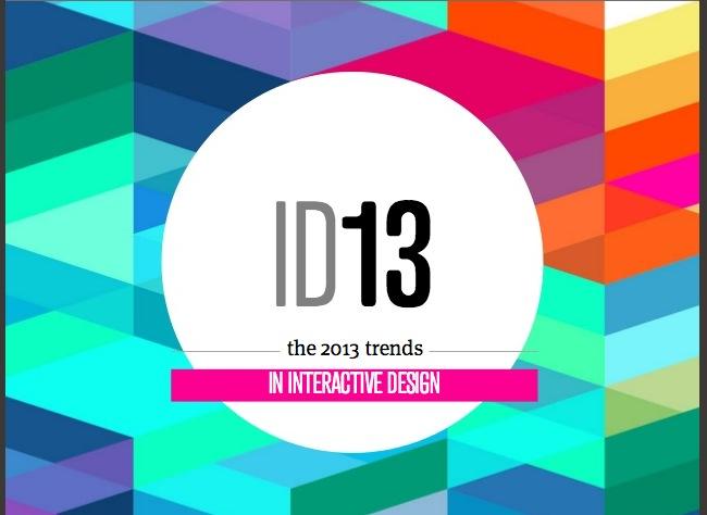 Trends in Interactive Design – 2013
